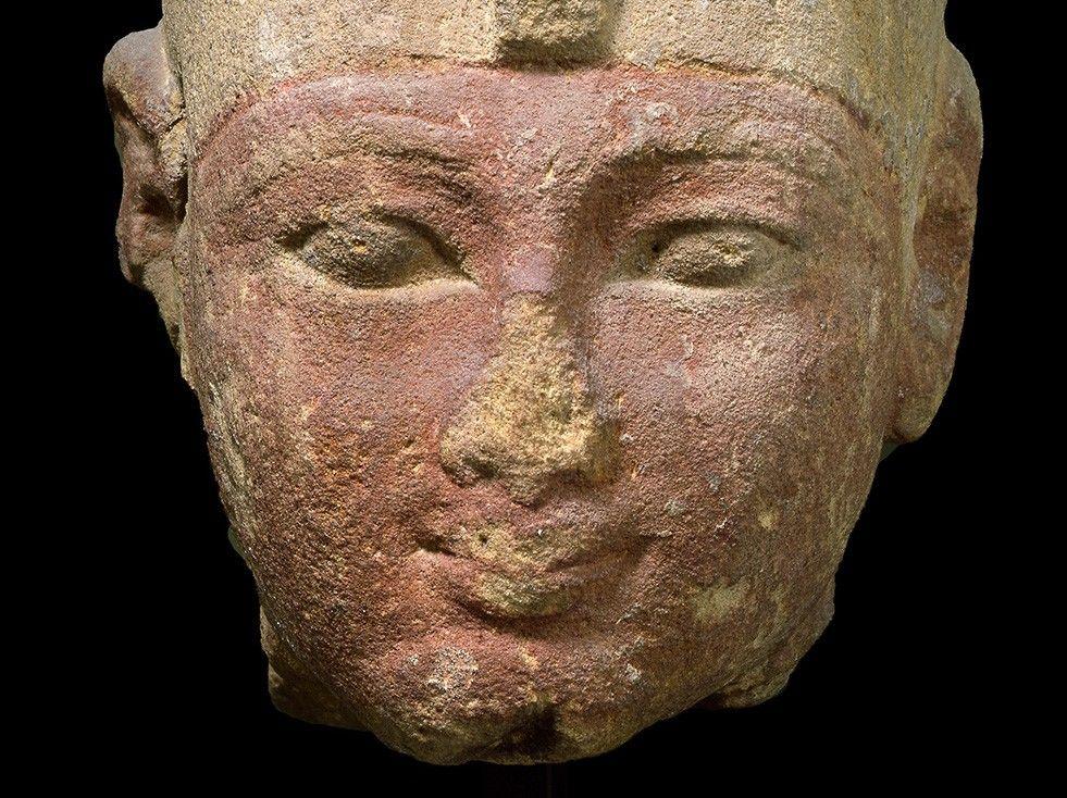 Cabeza Del Faraón Mentuhotep Ii Caracteristicas Del Arte Faraon Arte Del Antiguo Egipto