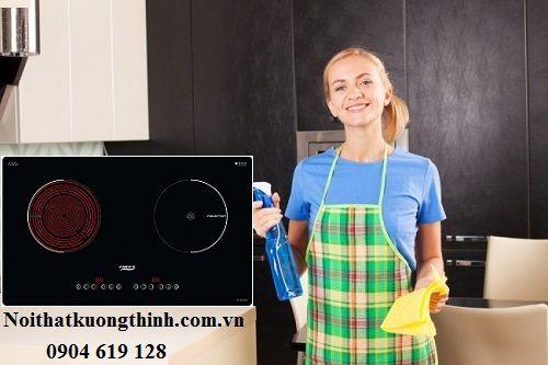 Hướng dẫn vệ sinh bếp điện từ Chefs EH MIX330