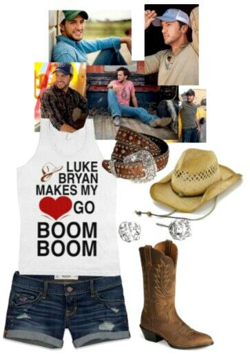 Luke Bryan Concert Outfit  Country Life  75eef61a4d34