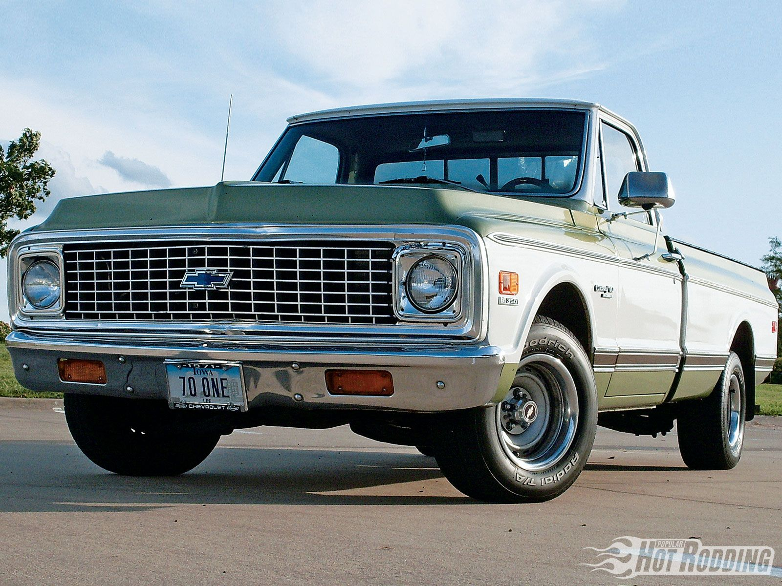 1971 chevy pickup what were they thinking with that green color  [ 1600 x 1200 Pixel ]
