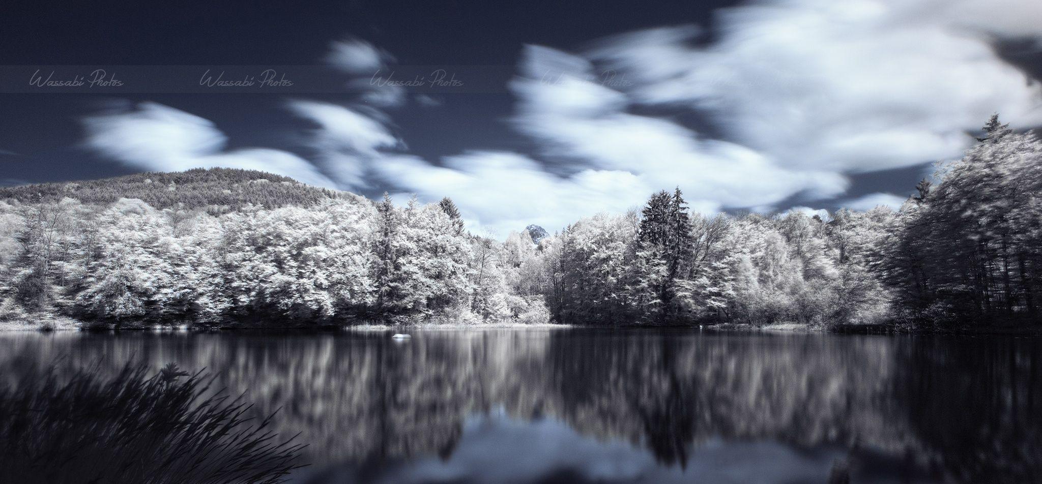 Fotografía Reflection Beunaz Lake (France) por Wassabi Photos en 500px Descripción: Lago Beunaz, situado en el departamento de Haute-Savoie, Francia.