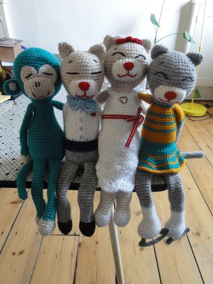 Amineko | crochet | Pinterest | Gato, Patrones amigurumi y Tejido