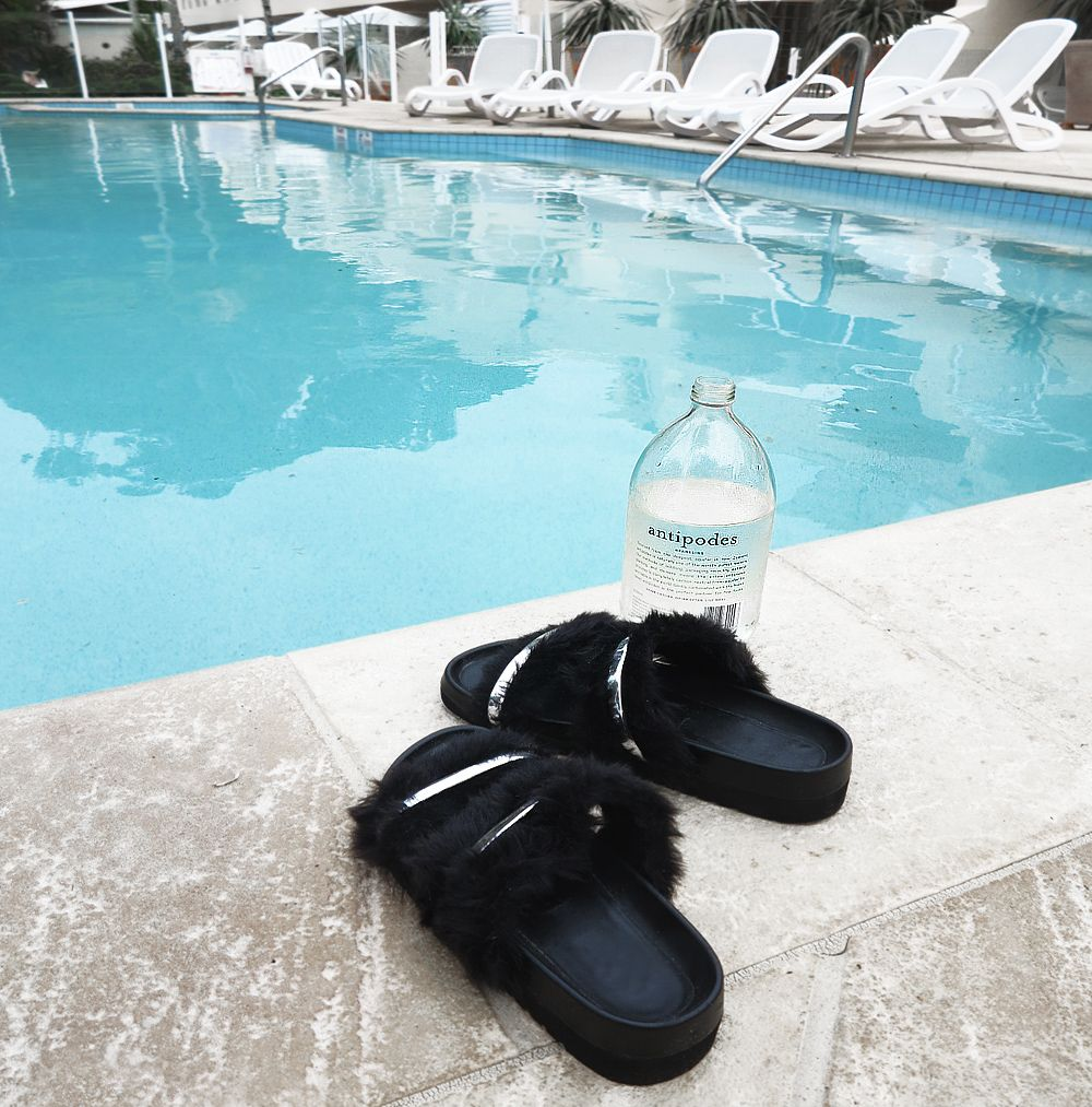 dff89d75e9f5 Fuzzy Senso pool slides while on holidays in Queensland  poolslides  slides   holiday  black