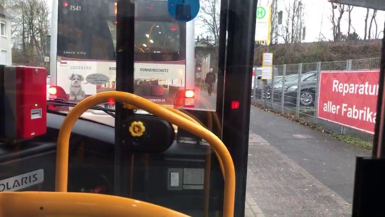 Bus 782 Solingen Hbf Düsseldorf HeinrichHeineAllee