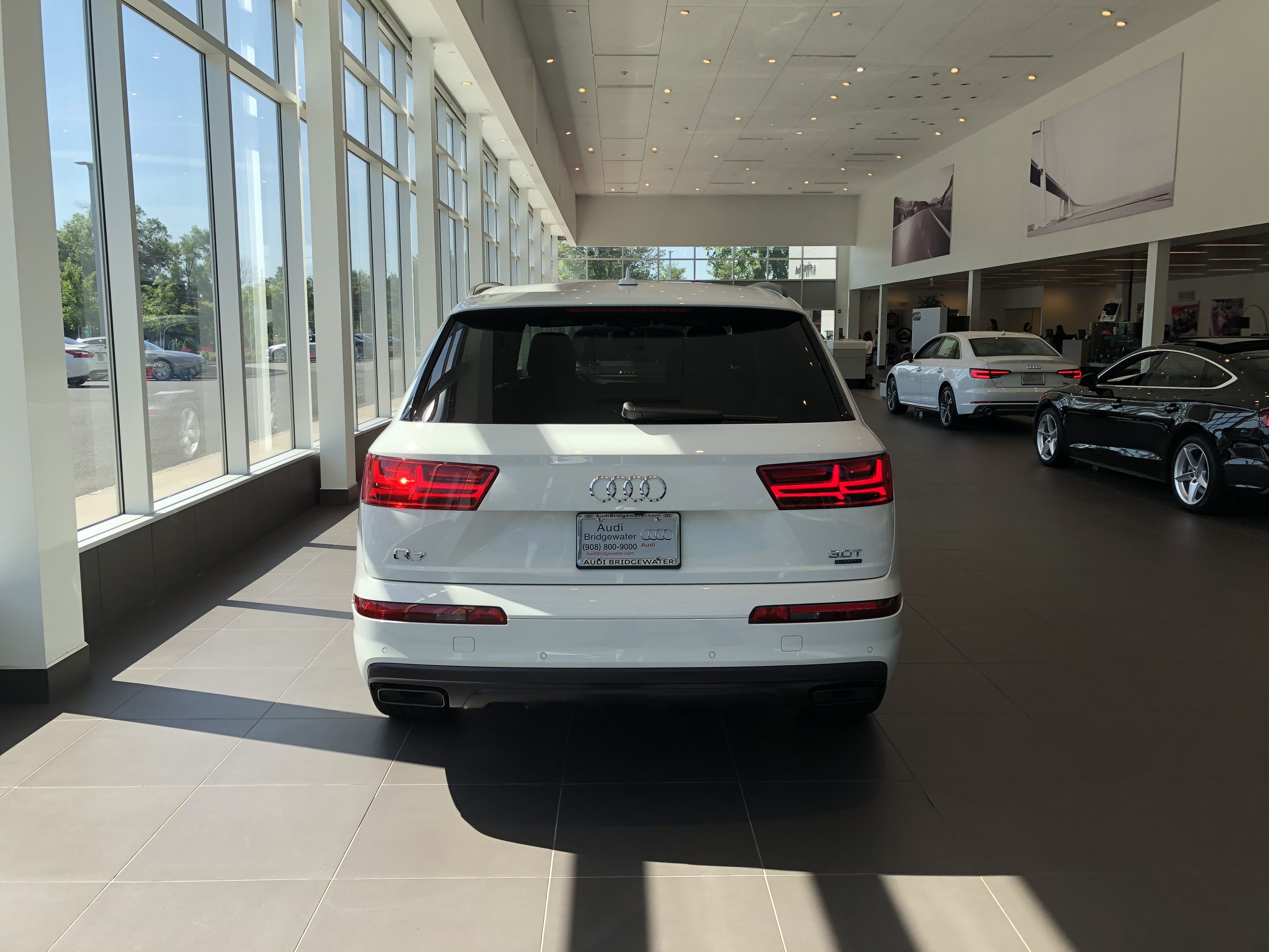 Rear View Of Hatch And Taillights Of The Audi Q In Carrara - Bridgewater audi