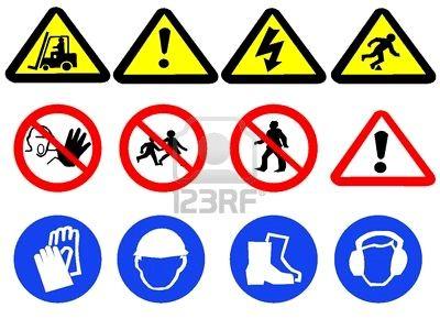 Warning Signs Hazard Sign Signs Hand Washing Sign