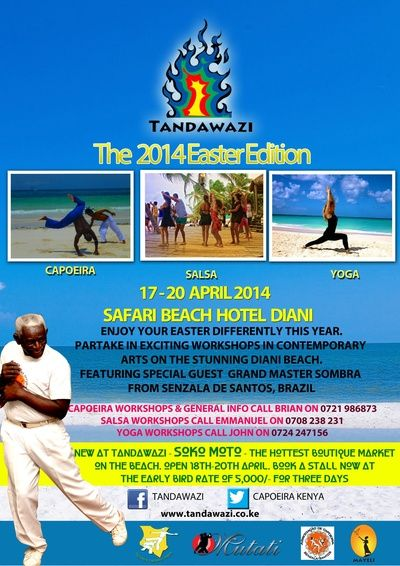 Tandawazi: The 2014 Easter Edition at Diani Beach