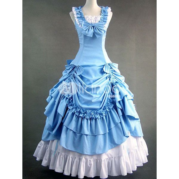 Prom Dresses of the 1800s