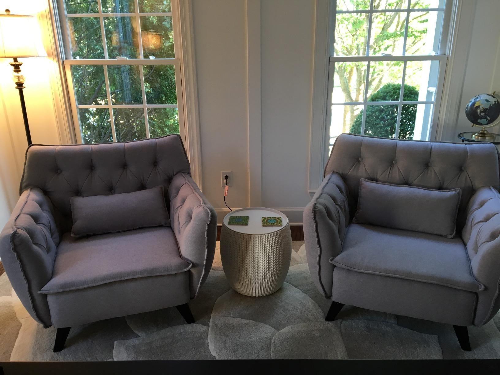 Best Amazon Com Mid Century Modern Tufted Linen Fabric Living 400 x 300