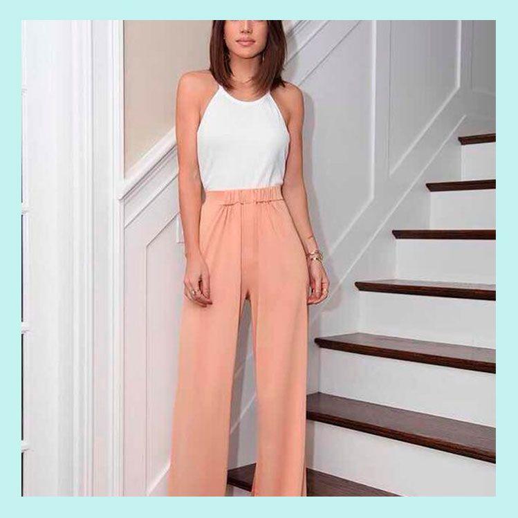 10 Formas De Usar Pantalones Anchos Sin Verte Gorda Moda Ropa Outfits