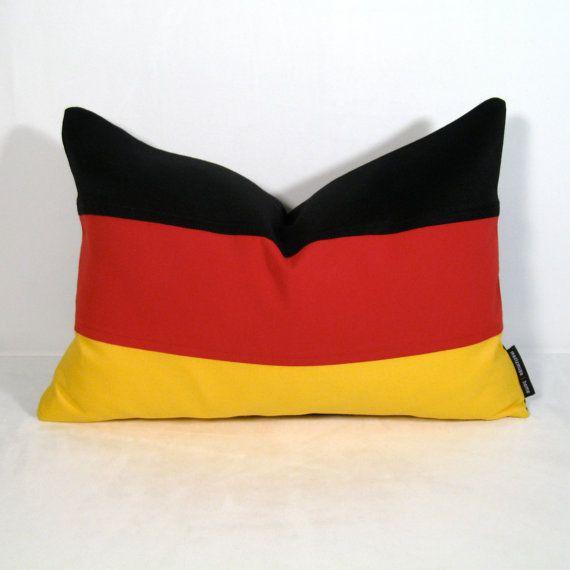 german flag pillow cover decorative