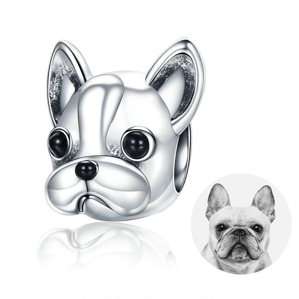 charm pandora bulldog