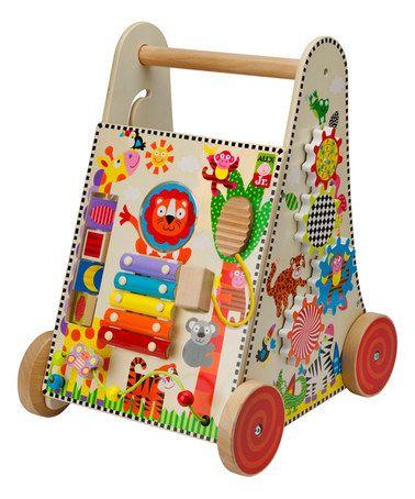 Alex Jr Jungle Fun Activity Cart Baby Activity Toys Activity Toys Push Toys