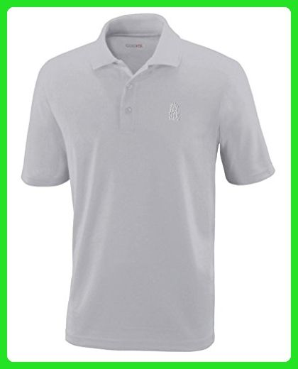 White Front Kick Martial Arts Embroidery Polyester Performance Polo