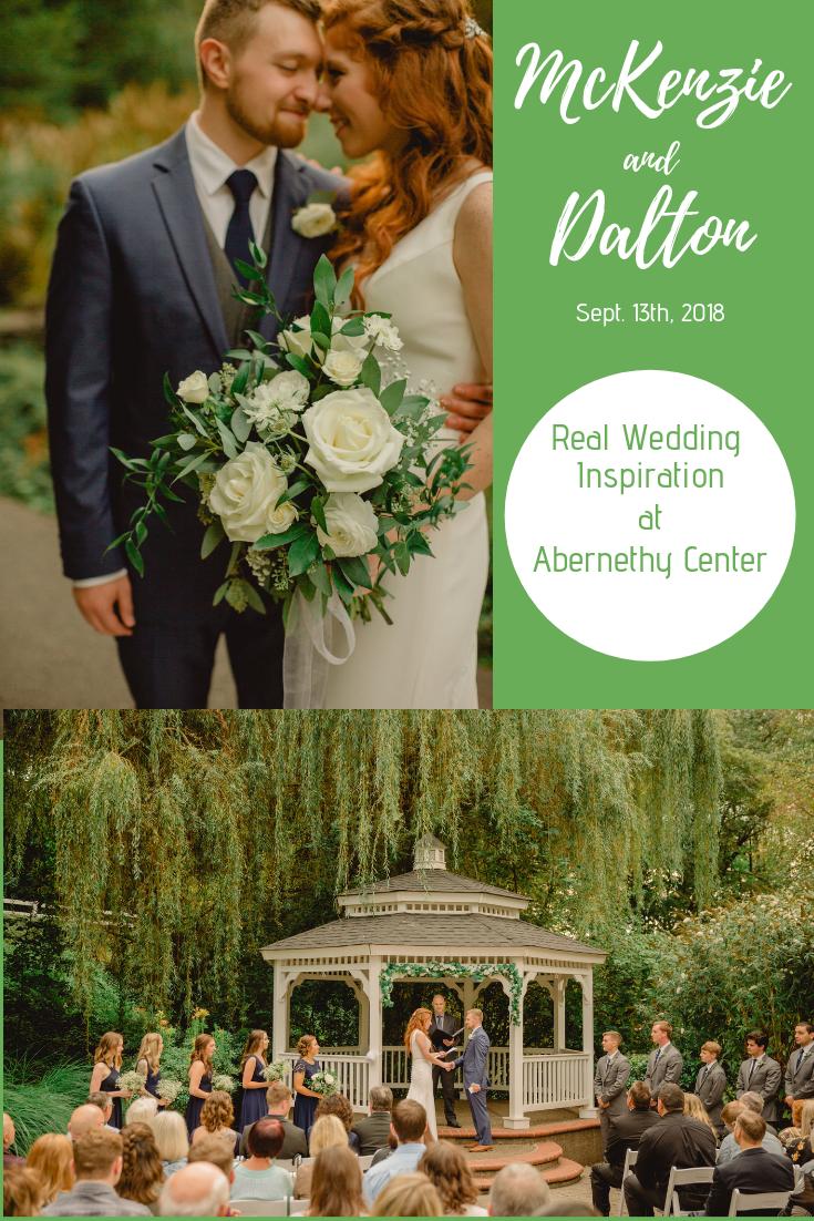17c9b85b66 Abernethy Center real wedding inspiration! Beautiful garden wedding in  Portland
