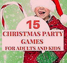 Photo of 15 Christmas party games for adults and kids for Christmas., #HolidayP … ,  #adults #Christ…