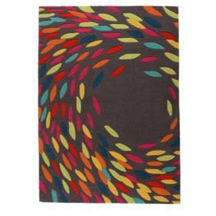 Trailling Leaves Rug 160x230cm Grey At Argos Co Uk Visit To