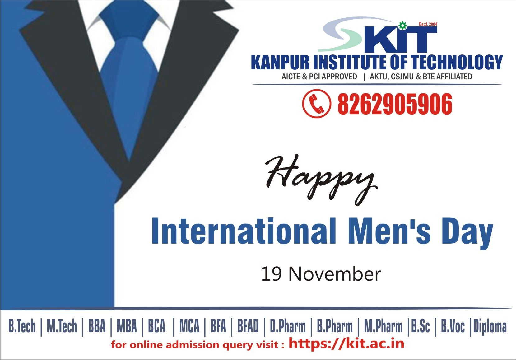 The International Men S Day Is Celebrated On November 19 Every Year Across The Globe The Day Is International Men S Day Men S Day Mens Health
