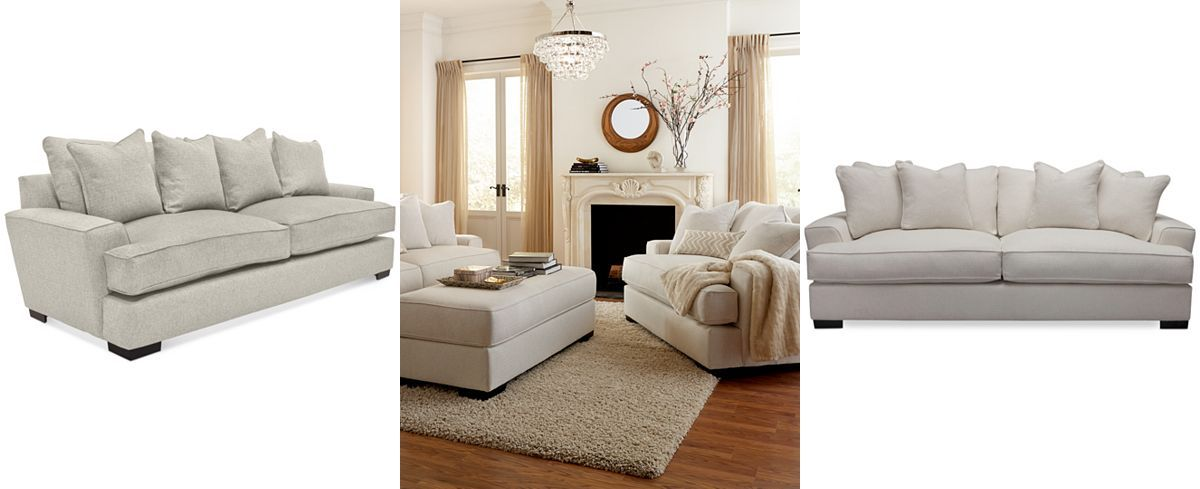 Ainsley Fabric Sofa Only At Macy S Couches Sofas Furniture