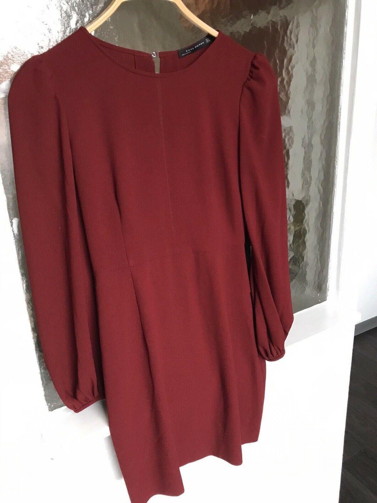 Kleid Zara dunkelrot festlich edel Größe S - Festliche ...