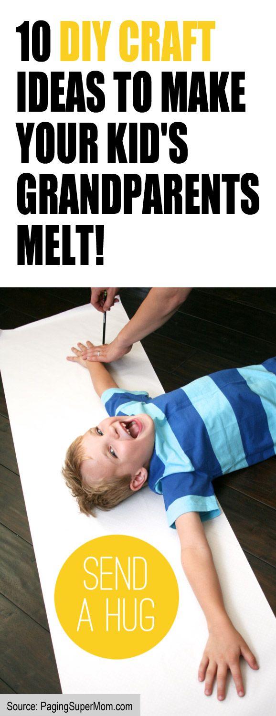diy craft ideas to make your kids grandparents melt birthday
