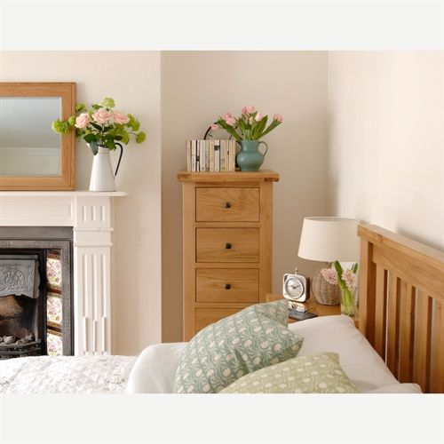Portland Oak Gents Double Wardrobe | Oak bedroom furniture, Oak ...