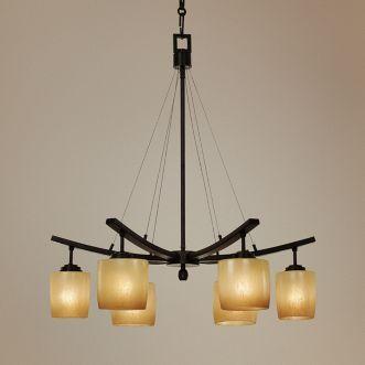 six downlights chandelier