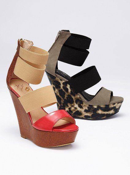 04640b5537f1cc Multicolor Wedge Sandal - Colin Stuart® - Victoria s Secret