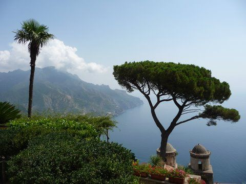 Amalfi Coast, Capri. View from Gardens from August, taken in september 2011
