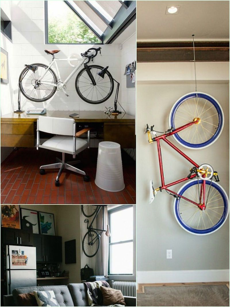 A Bike Store Best Creative Ways To Store A Bike In Your Apartment With Style