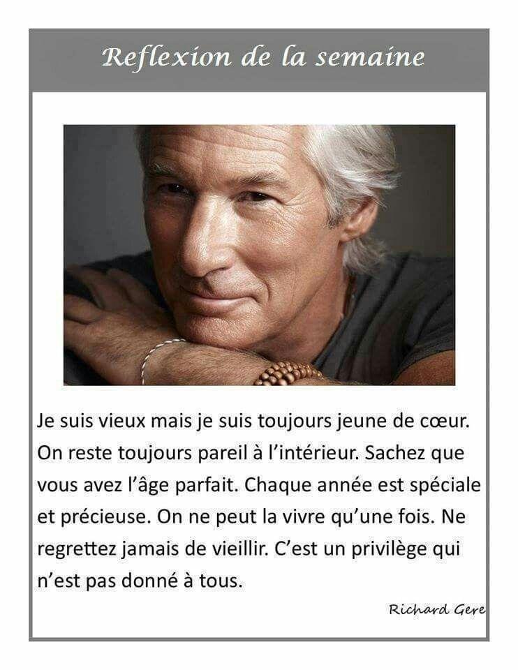 Citation Vieillir Et Rester Jeune : citation, vieillir, rester, jeune, Épinglé, Réflexions