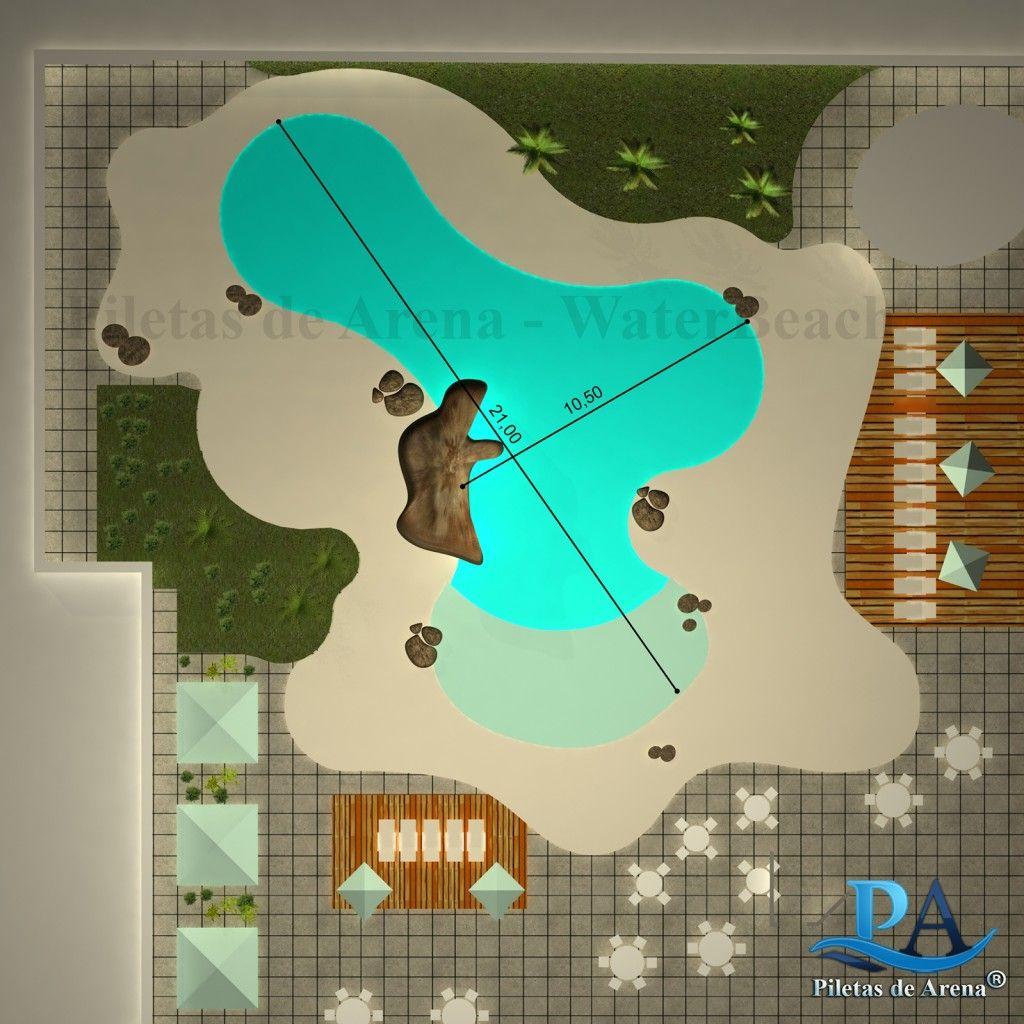 Fotografías de piscinas de arena | Piletas de Arena - La Playa en tu ...