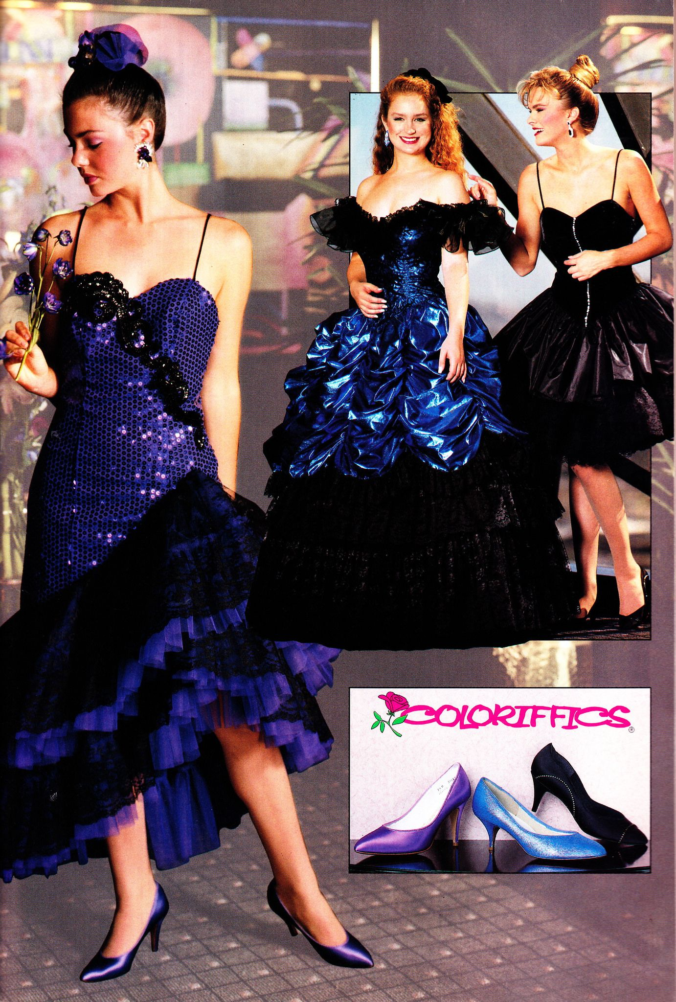 Loralie 1991 80s Prom Dress Loralie Prom Dress Prom Dresses Vintage [ 2048 x 1382 Pixel ]