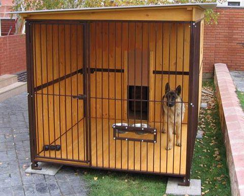 вальер для собаки фото