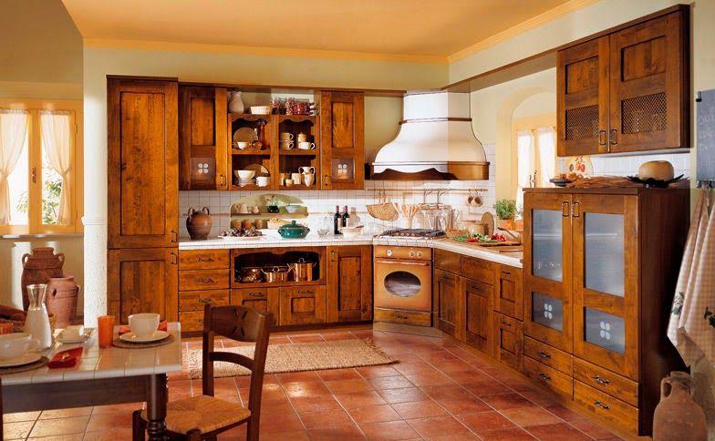 La decoraci n estilo r stica y sus principios vida for Cocinas con salon integrado