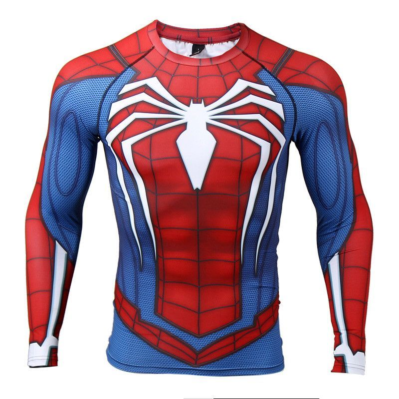 e9be8c2f589a6 Long Sleeve Compression Shirt - Spiderman | Spider man | Spiderman ...