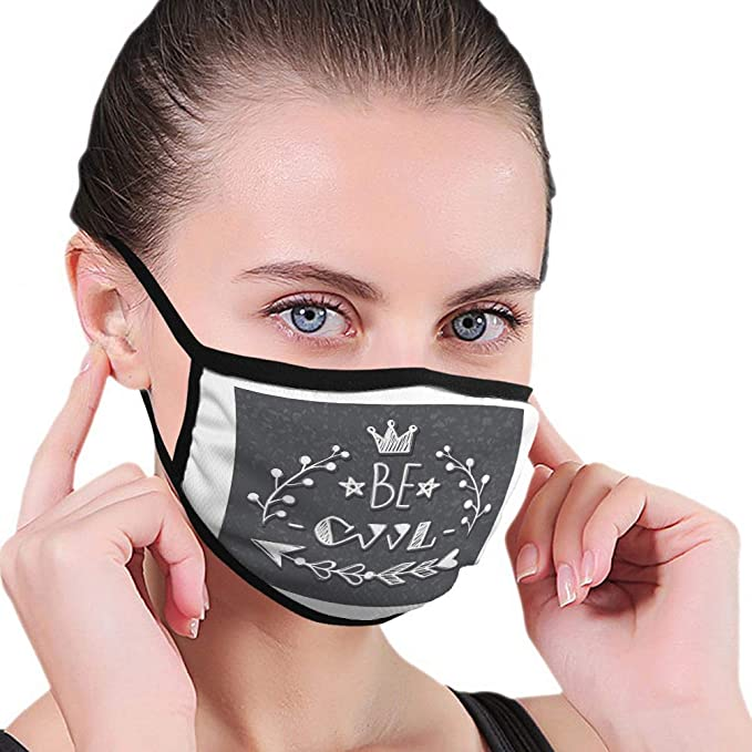Amazon Com Washable And Reusable Face Mouth Mask Protection Slogan Print Be Cool Ideal Girls Textile Fashion Gr Clothing Di 2020