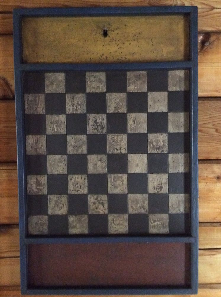 Seems vintage checker boards think