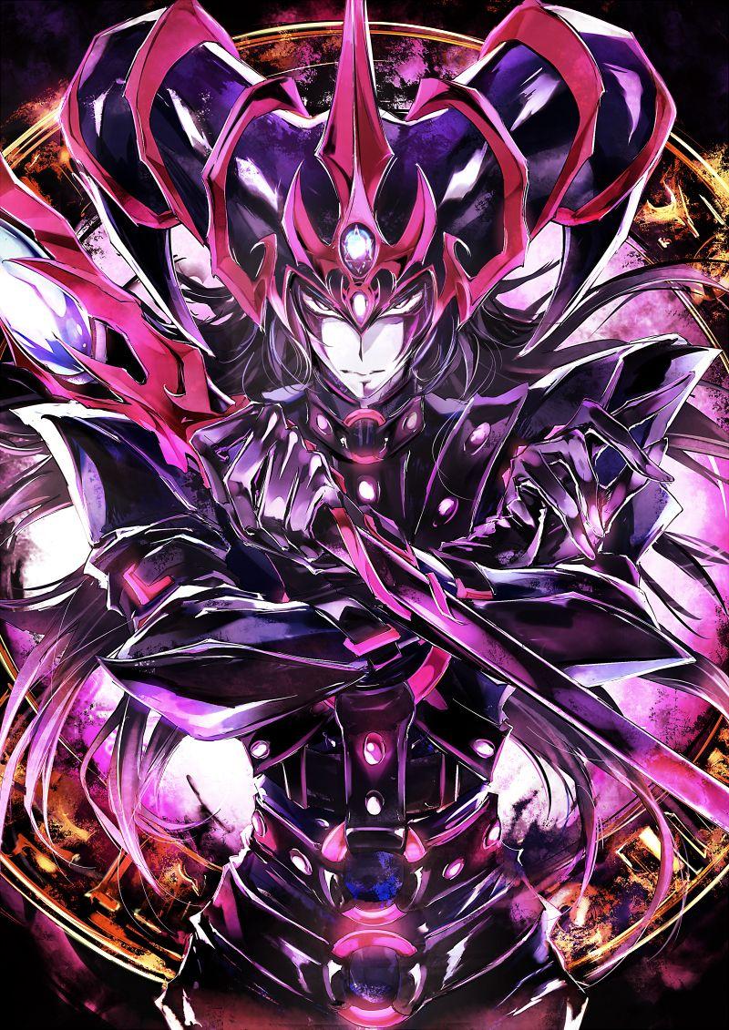 YuGiOh! Dark Magician of Chaos Mago anime, Anime