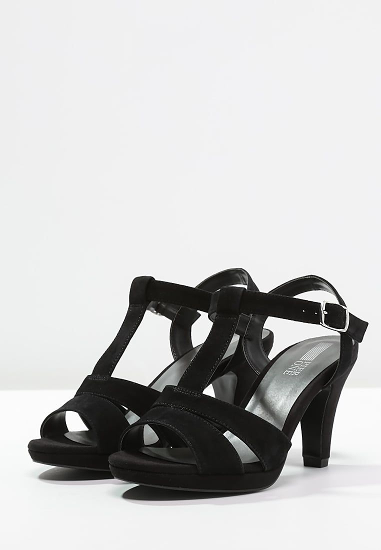 bestil Pier One Højhælede sandaletter / Højhælede sandaler - black til kr 299,00 (30-05-16). Køb hos Zalando og få gratis levering.