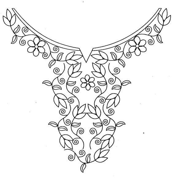 Lady Craft: Neck Des | Cofrade General | Pinterest