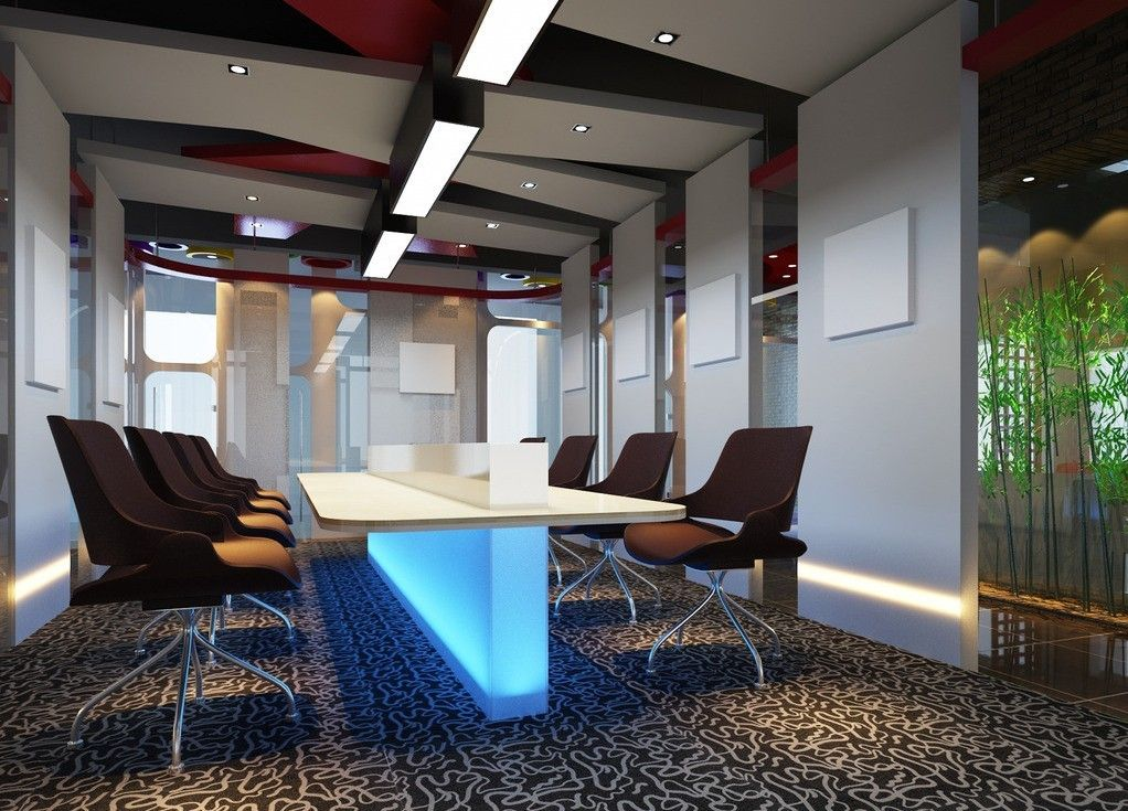 Interior Design Conference funky furniture and walls | cool conference rooms | pinterest