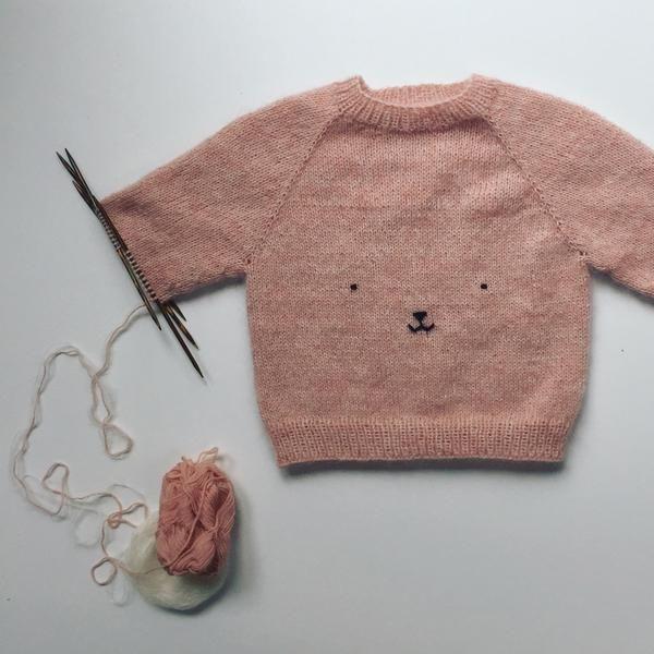 Teddy Bear Sweater Babies Pinterest Knitting Baby Knitting