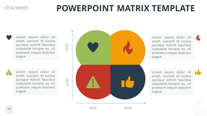 Matrix Templates For Powerpoint Template