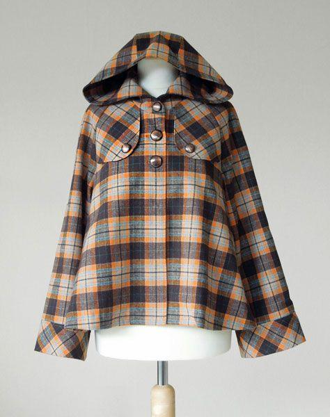 Digital caramel jacket sewing pattern | Schnittmuster jacke, Jacken ...