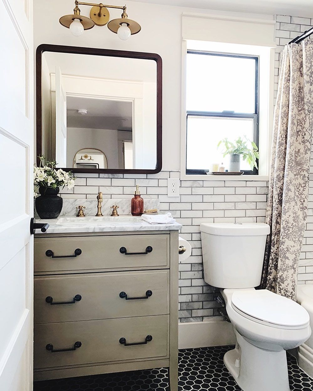 Jenny Komenda On Instagram Adding A Bathroom Is Always A Good Idea For Resale If You Can Manage To Carve Out A Add A Bathroom Guest Bathroom Evergreen House