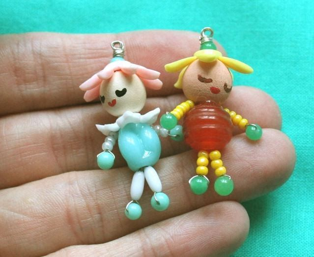 I was looking for some fun dolly pendants for my girls on etsy , and while I ran across some really cute painted wooden peg pendants, I was... #dollies