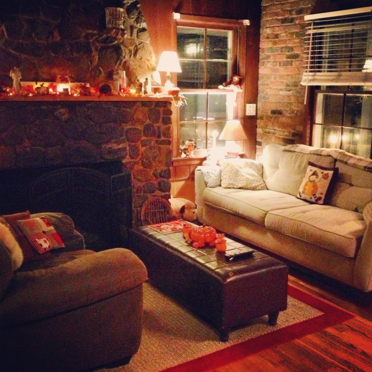 Cozy fall in my house Cozy