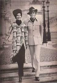 Risultati immagini per Jean Shrimpton Con vestiti di Forquet