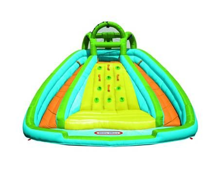 Little Tikes Rocky Mountain River Race Canadian Tire Splash Pool Inflatable Pool Water Slide Bounce House